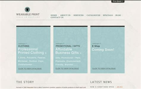 Inspiring Examples Of Texture Use In Minimal Web Design