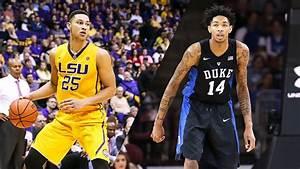 LSU39s Ben Simmons Or Duke39 Brandon Ingram The 2016 Draft39s