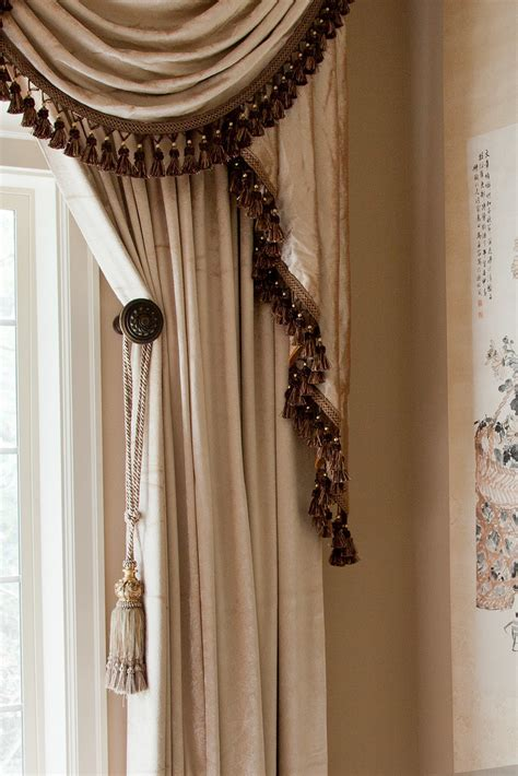 curtains valances and swags pearl dahlia swags and tails valance curtain set 100