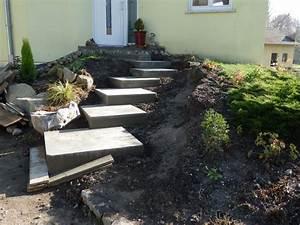 Que mettre sur les marches béton de l'escalier extérieur?