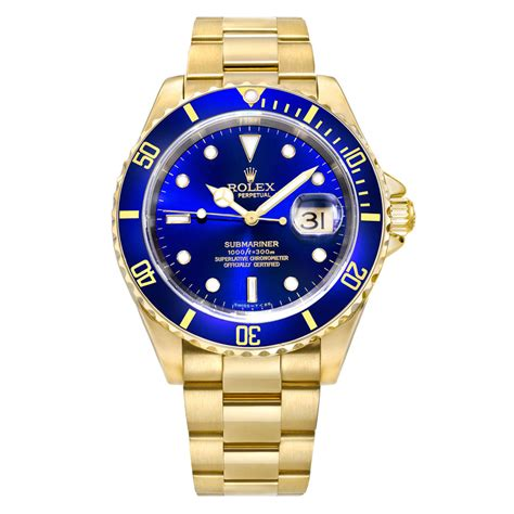 16618 | Pre-Owned Rolex Submariner Date Yellow Gold