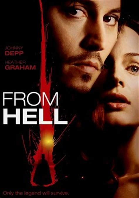 From Hell by From Hell 2001 For Rent On Dvd And Dvd Netflix