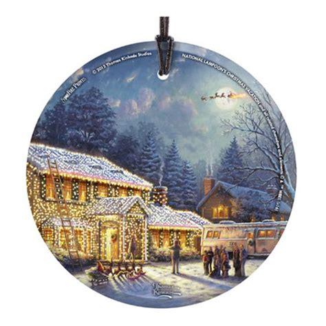 national loons christmas vacation thomas kinkade ornament
