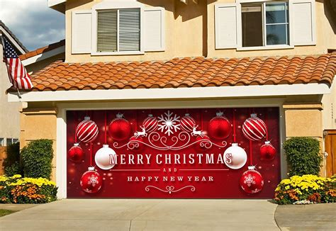 christmas garage door decorations   create