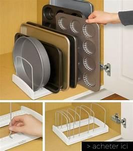 Rangement Cuisine Organisation : rangement cuisine meuble en coin pour cuisine cbel cuisines ~ Premium-room.com Idées de Décoration