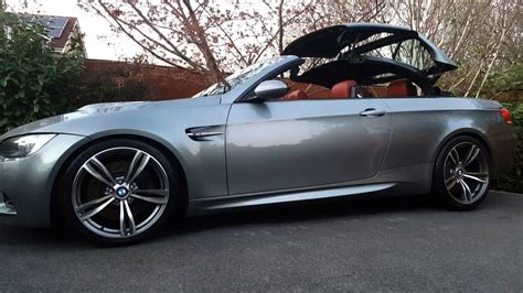 bmw   convertible roof operation youtube