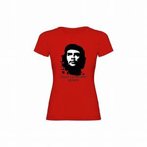 Woman t shirt che guevara for Che guevara t shirts