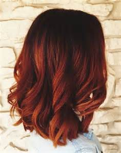 Red Blonde Ombre Hair Color Ideas