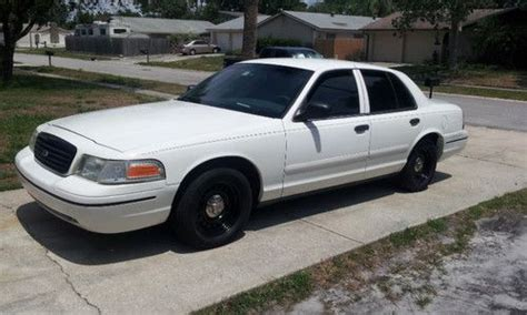 Buy Used Unmarked Florida Police Car Full Cloth Interior