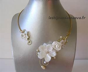 bijoux mariage pas cher collier fantaisie pour mariee rose With robe ceremonie avec bijoux mariage perle pas cher