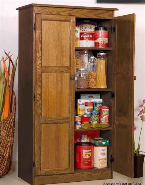 storage cabinet  kitchen country cupboard pantry oak