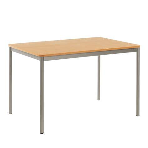 table rectangulaire de cuisine table de cuisine rectangulaire en stratifié basic 4