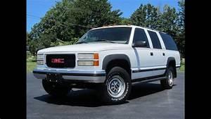 1999 Gmc Suburban 2500 Slt 4x4 7 4l 454 Sold