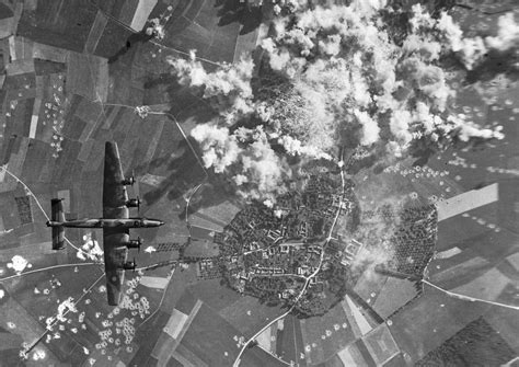 Aerial Bombing In Normandy