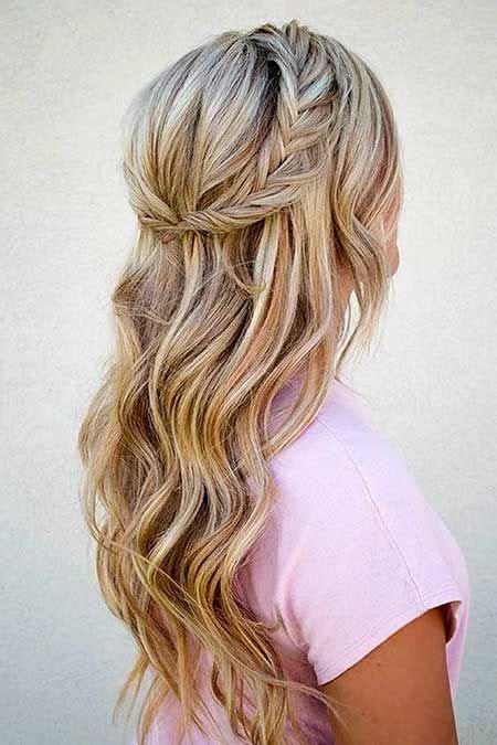 frisuren mit zoepfen fuer langes haar lange frisuren