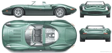 The-Blueprints.com - Blueprints > Cars > Jaguar > Jaguar ...