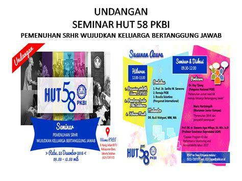 Aborsi Klinik Jakarta Info Pkbi Peringatan Hut Pkbi 58 Th 58tahunpkbi Pkbi