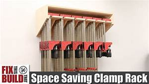 Space Saving Parallel Clamp Rack DIY Build Plans - YouTube