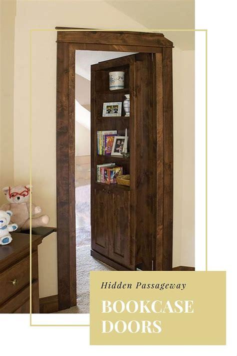 Passage Bookcase by Passageway Bookcase Doors Diy Bookcase Door
