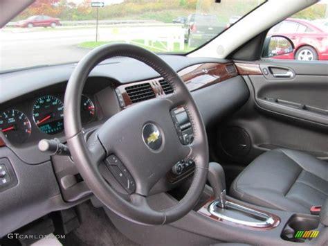 ebony interior  chevrolet impala lt photo