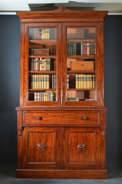 victorian mahogany secretaire bookcase antiques atlas