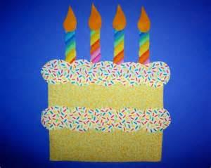 Birthday Cake Template Preschool