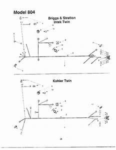 Intek  Kohler Twin Electrical Systems Diagram  U0026 Parts List