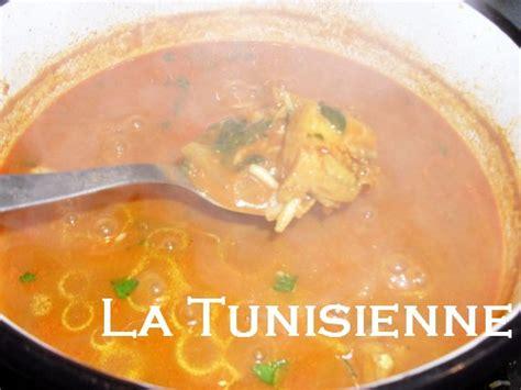 cuisine tunisienne chorba chorba tunisienne hlalem au poisson hlalem bel hout