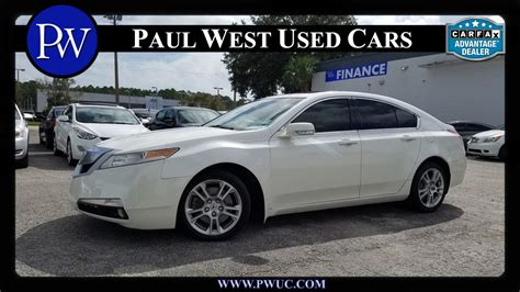 Acura Tl 2010 For Sale by 2010 Acura Tl For Sale In Gainesville Fl