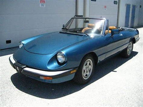 Find Used 1988 Alfa Romeo Spider Veloce No Reserve In