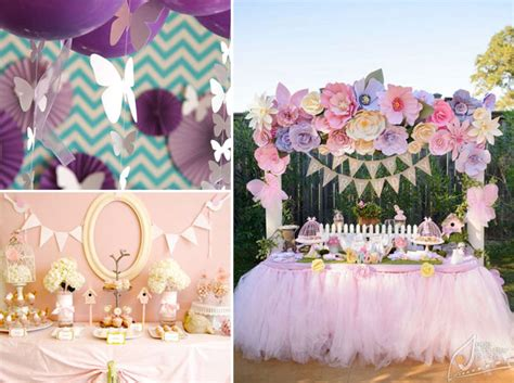Girl Baby Shower Themes Springtime  One Small Child