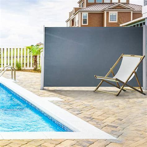 vevor retractable side awning    retractable patio screen waterproof walmartcom