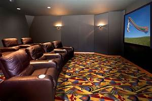 Sunset Strip Home Theater Carpet
