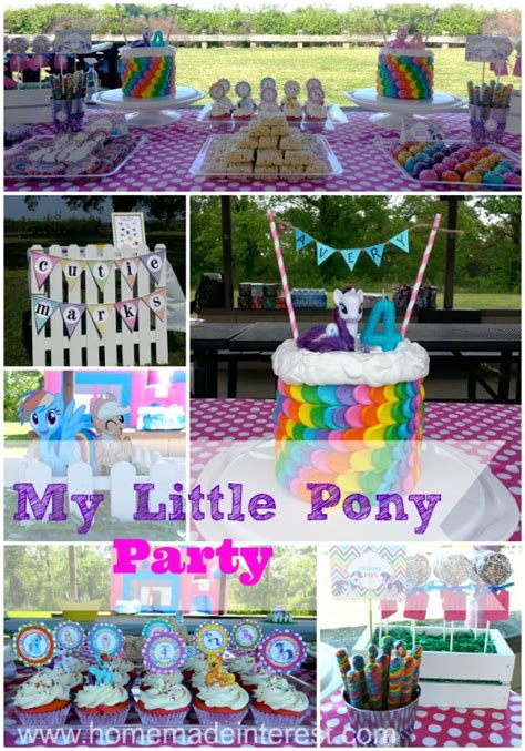 My Little Pony Party!!  Home Made Interest