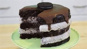 Mouthwatering Oreo Ice Cream Cake – Desserts Corner