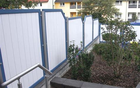 Balkon Sichtschutz Kunststoff Weiß by Sichtschutz Aus Kunststoff In Anthrazit