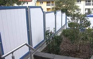 sichtschutz aus kunststoff in anthrazit With französischer balkon mit waschbecken garten kunststoff