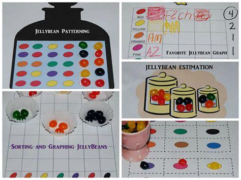 5 jelly bean math activities for preschool and kindergarten 873 | JellyBean Activities Collage