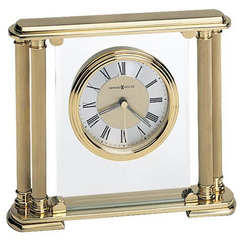 howard miller curio howard miller athens solid brass clock 613627