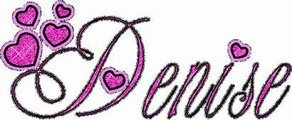 Denise Glitter Animated Names Graphics Gifs Animations