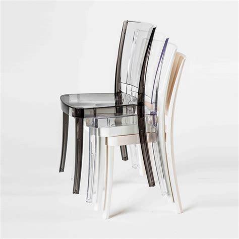 chaise en polycarbonate chaise transparente en polycarbonate lucienne neutre chaises de salle à manger id de produit