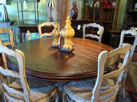 60 kitchen table and chairs 60 quot dining table w 6 bottom chairs crakle