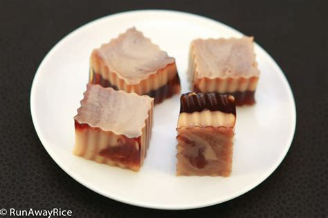 marbled coffee and gelatin runawayrice