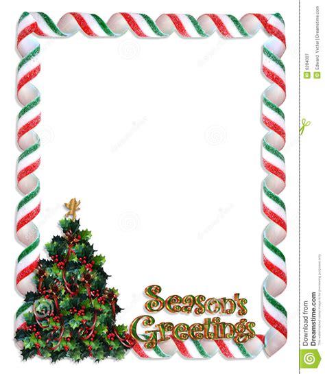 christmas tree frame border royalty  stock photography