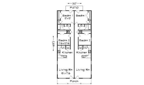 narrow lot duplex house plans ideas house plans