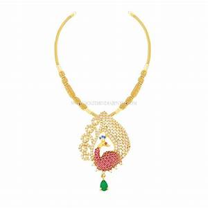 Kalyan Jewellers Necklace Designs with Price ~ South India ...