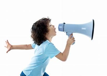 Words Megaphone Kid Children Parentmap Discipline Encouraging