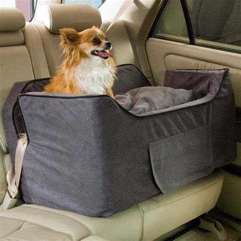 best orthopedic beds for large dogs snoozer large luxury lookout ii car seat w microsuede