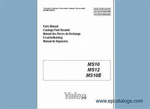 Download Yale Forklift Trucks Parts Manuals Pdf