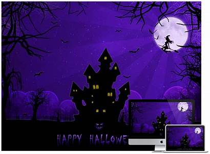 Halloween Scary Backgrounds Wallpapers Desktop Happy Spooky